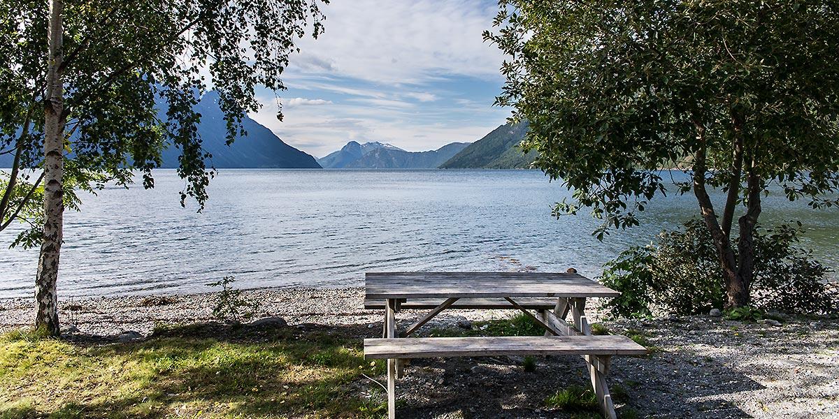 camping telt nordfjord